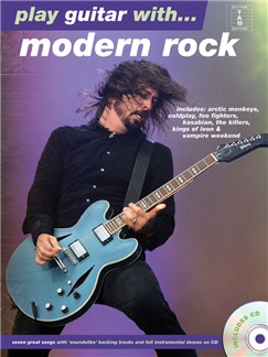 Play Guitar With... Modern Rock Books and CDs | Guitar Tab, Guitar