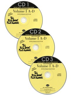 The Real Book Playalong Sixth Edition - Volume 1 A-D (3 CDs) CDs | C Instruments, E Flat Instruments, B Flat Instruments, Bass Clef Instruments