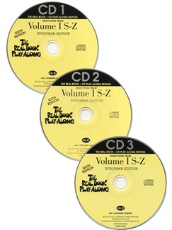 The Real Book Playalong Sixth Edition - Volume 1 S-Z (3 CDs) CDs | C Instruments, E Flat Instruments, B Flat Instruments, Bass Clef Instruments