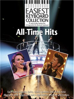 Easiest Keyboard Collection: All-Time Hits Books | Keyboard