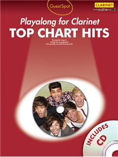 Guest Spot: Top Chart Hits - Clarinet Books and CDs | Clarinet