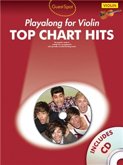 Guest Spot: Top Chart Hits - Violin Books and CDs | Violin