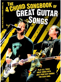 The 4 Chord Songbook Of Great Guitar Songs Books | Guitar