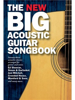The New Big Acoustic Guitar Songbook Books | Guitar, Lyrics & Chords