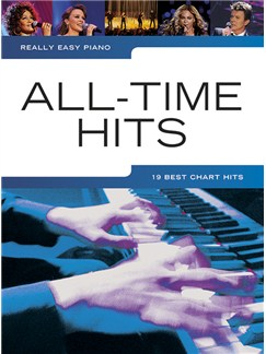 Really Easy Piano: All-Time Hits Books | Piano, Easy Piano