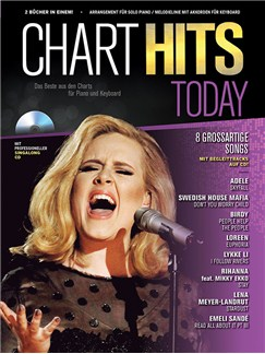 Chart Hits Today - Das Beste Aus Den Charts Für Piano Und Keyboard (Volume 2) Books and CDs | Piano