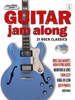 Guitar Jam Along: 21 Rock Classics (Book/3CD) Books and CDs | Guitar