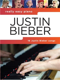 Really Easy Piano: Justin Bieber Books and Digital Audio | Piano