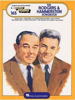 E-Z Play Today 165: The Rodgers And Hammerstein Songbook Books | Melody line & lyrics, with chord symbols