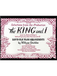 The King And I: Easy Piano Books | Piano and Voice, with Guitar chord symbols
