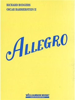 Rodgers & Hammerstein: Allegro (Vocal Score) Books | Voice, Piano