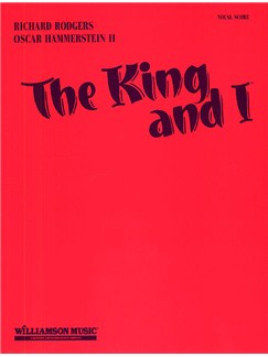 Rodgers And Hammerstein: The King And I (Vocal Score) Books | Voice, Piano