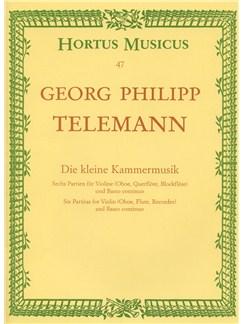 Georg Philipp Telemann: Little Chamber Music (Bärenreiter Urtext Edition) Books | Soprano (Descant) Recorder, Violin, Flute, Oboe, Continuo