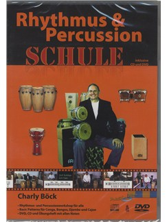 Charly Bock: Rhythmus & Percussion Schule (CD Und DVD) CDs and DVDs / Videos | Drums