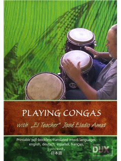 Jose Eladio Amat: Playing Congas DVDs / Videos | Congas