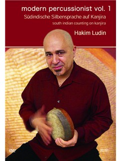 Hakim Ludin: Modern Percussionist Vol. 1 - South Indian Counting On Kanjira DVDs / Videos | Percussion