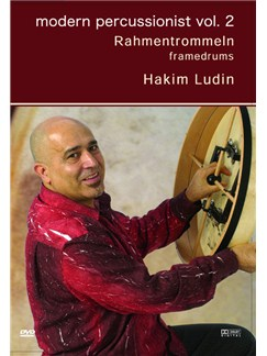 Hakim Ludin: Modern Percussionist Vol. 2 - Framedrums DVDs / Videos | Percussion