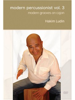 Hakim Ludin: Modern Percussionist Vol. 3 - Modern Grooves On Cajon DVDs / Videos | Cajon