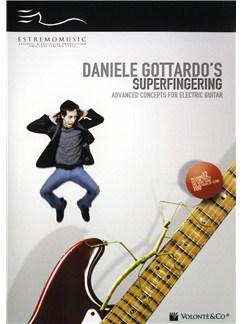 Daniele Gottardo: Superfingering - Advanced Concepts For Electric Guitar DVDs / Videos | Electric Guitar