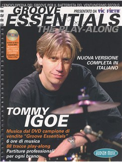 Tommy Igoe: Groove Essentials - The Play-Along (Italian Edition) Books and CDs | Drums