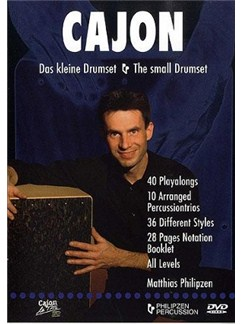 Matthias Philipzen: Cajon - The Small Drumset (DVD) DVDs / Videos | Cajon