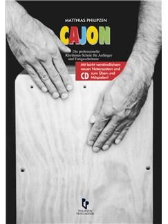 Matthias Philipzen: Cajon (Book And CD) - German Language Edition Books and CDs | Cajon