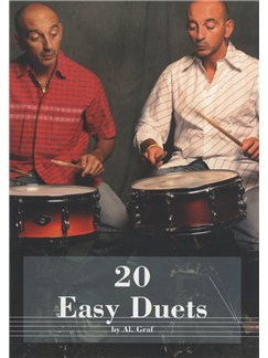 Al. Graf: 20 Easy Duets - Snare Drum (Book And CD) Books and CDs | Drums, Percussion