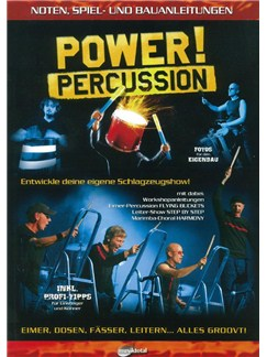 Power Percussion: Noten Spiel Und Bauanleitungen Books | Drums