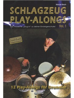 Schlagzeug Play-alongs: Volume 1 Books | Drums