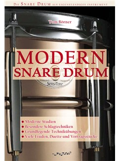 Tom Börner: Modern Snare Drum (German) Books | Drums