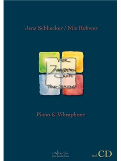 Jens Schliecker/Nils Rohwer: Four Seasons Suite - Vibraphone/Piano Books and CDs | Vibraphone, Piano Accompaniment