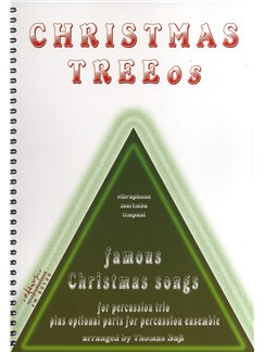 Christmas Treeos: Famous Christmas Songs - Percussion Trio Books | Vibraphone, Marimba, Timpani, Percussion (Trio)
