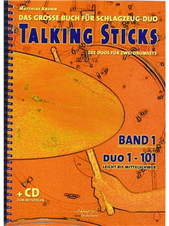 Matthias Krohn: Talking Sticks Band 1 (German) Books and CDs | Drums