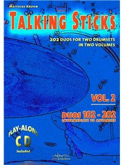 Matthias Krohn: Talking Sticks Vol. 2 (English) Books and CDs | Drums (Duet)