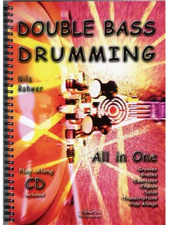 Nils Rohwer: Double Bass Drumming Books and CDs | Percussion