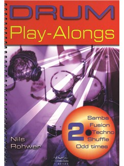 Nils Rohwer: Drum Play-Alongs 2 Books and CDs | Drums