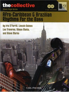 Afro-Caribbean And Brazilian Rhythms For The Bass Books and CDs | Bass Guitar