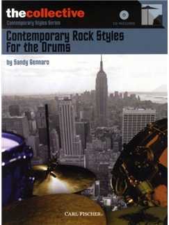 Sandy Gennaro: Contemporary Rock Styles For The Drums Books and CDs | Drums