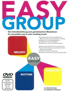 Rob Collomb/Matthias Philipzen: Easy Group Guitar/Choir/Percussion (3 Books/DVD) Books and DVDs / Videos | Percussion, Guitar