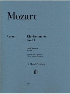 Wolfgang Amadeus Mozart: Piano Sonatas, Volume I Books | Piano
