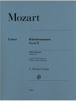 Wolfgang Amadeus Mozart: Piano Sonatas, Volume II Books | Piano