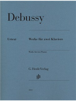 Claude Debussy: Works For Two Pianos Books | Piano Duet