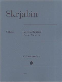 Alexander Skrjabin: Vers la flamme Poeme Opus 72 Books   Piano