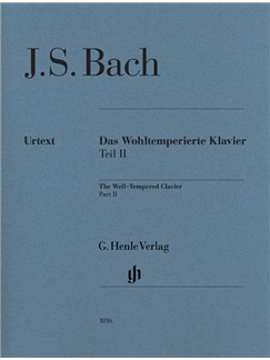 J.S. Bach: The Well-Tempered Clavier Part II BWV 870-893 (Edition Without Fingering) Books | Piano