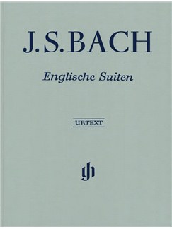 J.S. Bach: English Suites BWV 806-811 Books | Piano