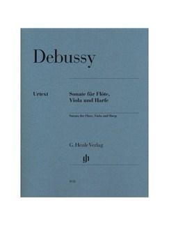 Claude Debussy: Sonata For Flute, Viola And Harp Books | Flute, Viola, Harp