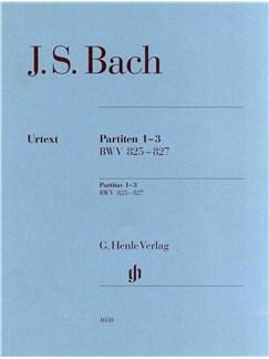 J.S. Bach: Partitas 1-3 BWV 825-827 (Urtext) Books | Piano