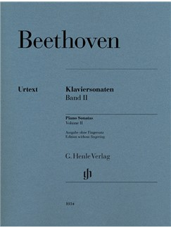 Ludwig Van Beethoven: Piano Sonatas, Volume II Books | Piano
