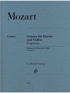 W. A. Mozart: Violin Sonatas - Fragments Books | Violin, Piano Accompaniment