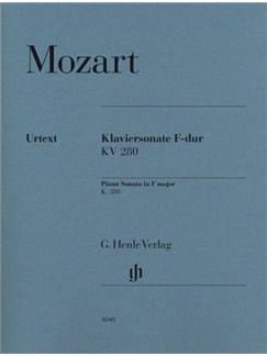 W.A. Mozart: Sonata In F K.280 (189e) Books | Piano